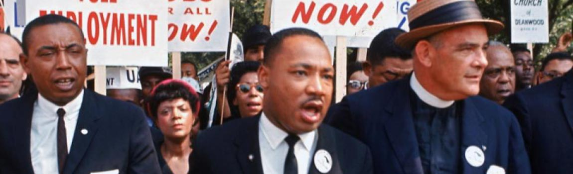 Stand with Dr. Martin Luther King, Jr.