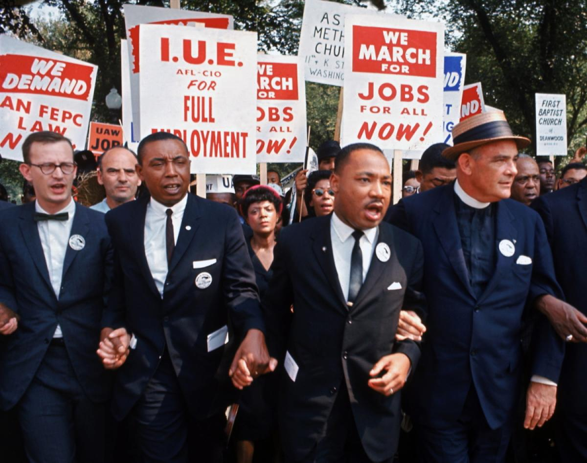 Stand With Dr Martin Luther King Jr Communications Workers Of